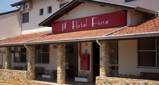 Hotel Fiusa - Entrada