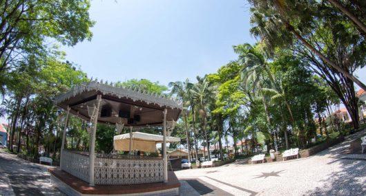 Praça da Matriz - Cesário Lange/SP